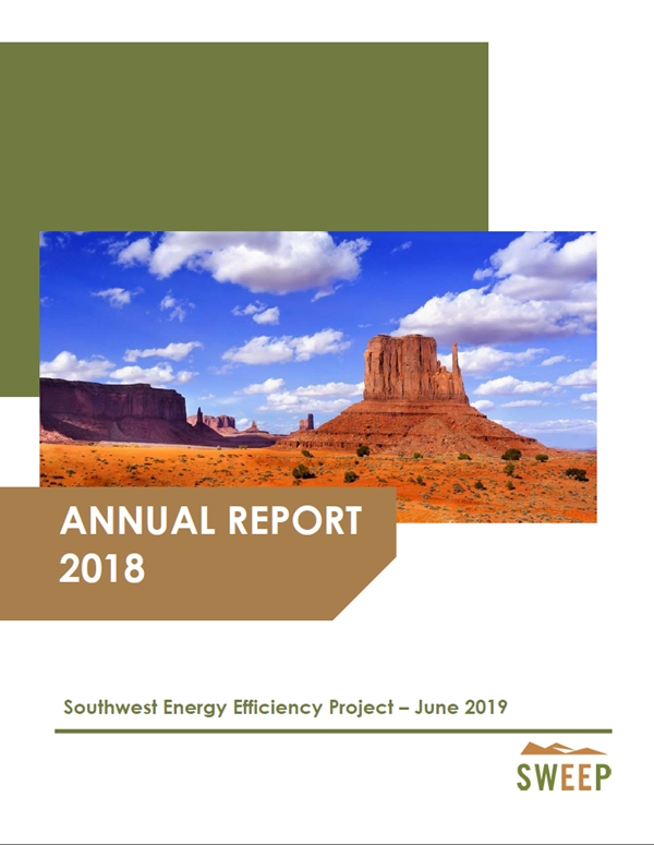 2018 SWEEP Annual Report Cover